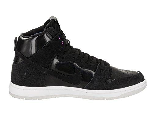 Nike Men's SB Zoom Dunk High Pro Black/Black White Clear Skate Shoe 6 Men US by Nike (Image #5)