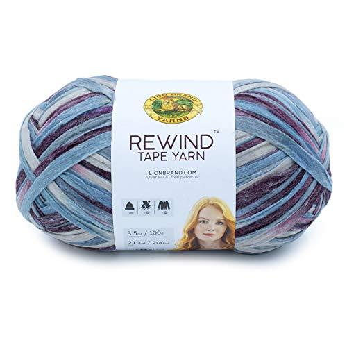 Lion Brand Yarn Rewind yarn, VIOLA