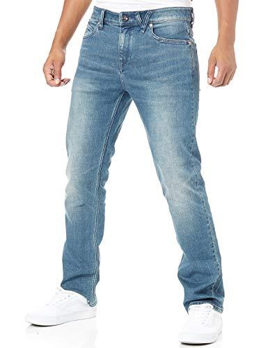 - Volcom Aged Indigo Solver Modern Straight Fit Jeans (34