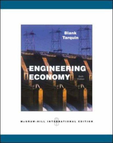 Engineering Economy [Aug 16, 2005] Blank, Leland T. and Tarquin, Anthony J.
