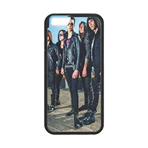 Black Veil Brides iPhone 6 Plus 5.5 Inch Cell Phone Case Black hnof