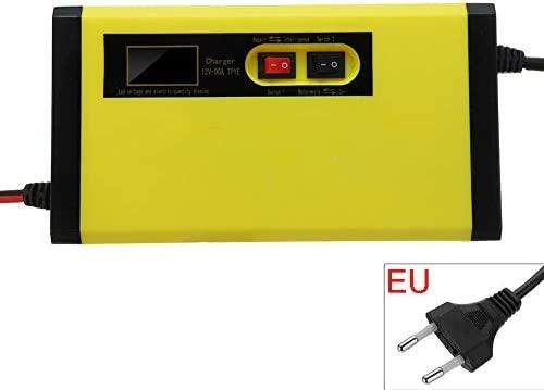 Ajboy - Cargador de batería Inteligente para Motocicleta (12 ...