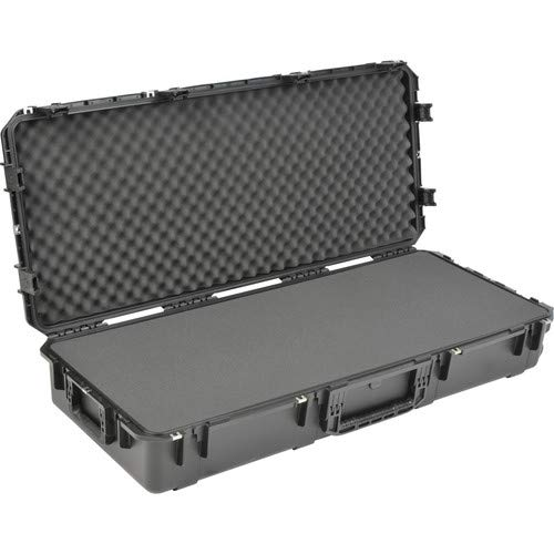 iSeries 4719-8 Waterproof Utility Case with Wheels (Black, Layered Foam) [並行輸入品]   B07MMJRBWQ