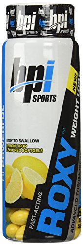 BPI Sports Roxy Weight Loss Advanced Thermogenic Soft Gels, 45 Count