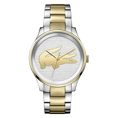 Lacoste Victoria Silver Dial Stainless Steel Ladies Watch 2001034