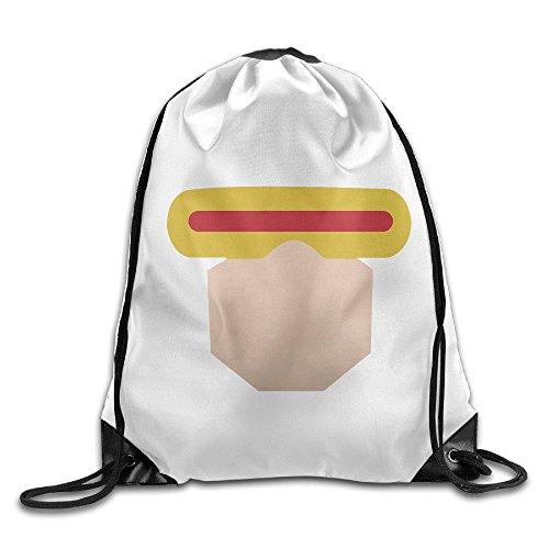 [TRYdoo Cyclops Logo Drawstring Backpacks/Bags] (Aquaman Halloween Costumes)