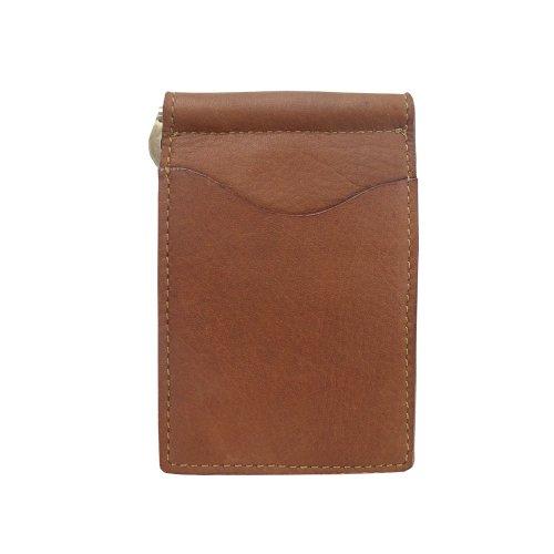 piel-leather-bi-fold-money-clip-saddle-one-size