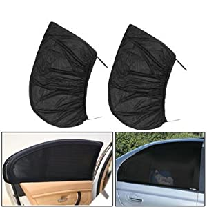 Windowpane Sunlight Tint Underwrite - Car Rear Window Shade Cover Kid Baby Shield - Pass Wraith Concealment Wrap Shadowiness Address Cut Spectre Book Binding Tone Handle - 1PCs