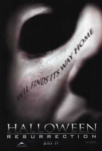 Halloween: Resurrection Poster Movie D 11x17 Busta Rhymes Sean Patrick Thomas Jamie Lee Curtis