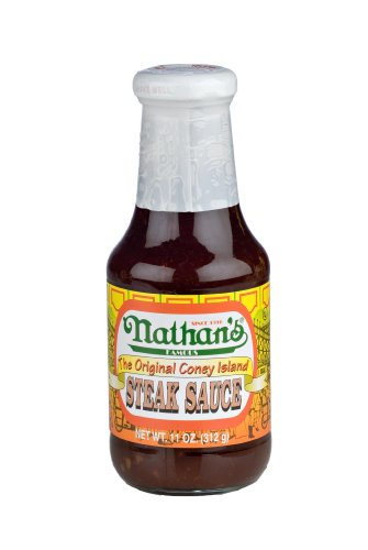 Nathans Hot Dog Stand - Nathan's Famous The Original Coney Island Steak Sauce - 11 oz