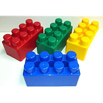 96 pc JUMBO BLOCKS Building Set - ULTIMATE PACKAGE!