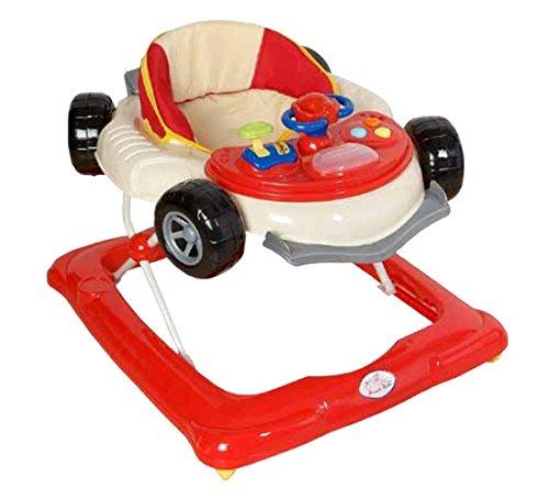 Andador para bebé, diseño fórmula 1 rojo. Andador de actividades o tacatá TORAL BEBE SL