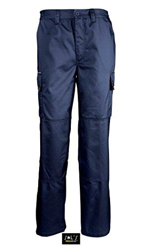 Workwear nbsp;mens Active Prowear nbsp; Sol´s Pro Pantaloni Navy Blu OHxtgfp