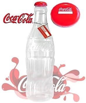 Plástico botella de Coca Cola dinero caja/60 cm (COK001) [Coque botella