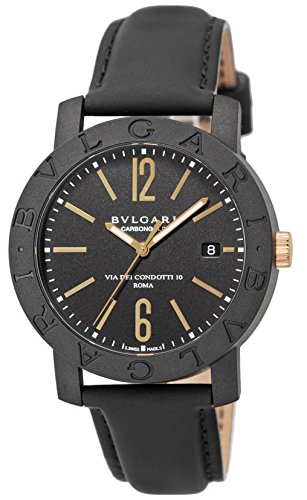 BVLGARI watch carbon Gold automatic BBP40BCGLD Men
