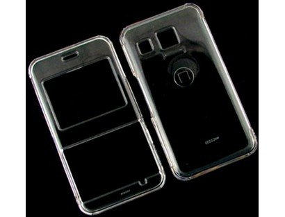 Lg Invision Plastic Case (Solid Plastic Phone Protector Case Cover Transparent Clear For LG Invision CB630)