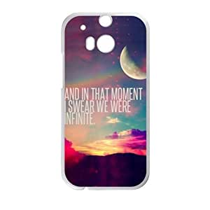 And In That Moment Hot Seller Stylish Hard Case For HTC One M8
