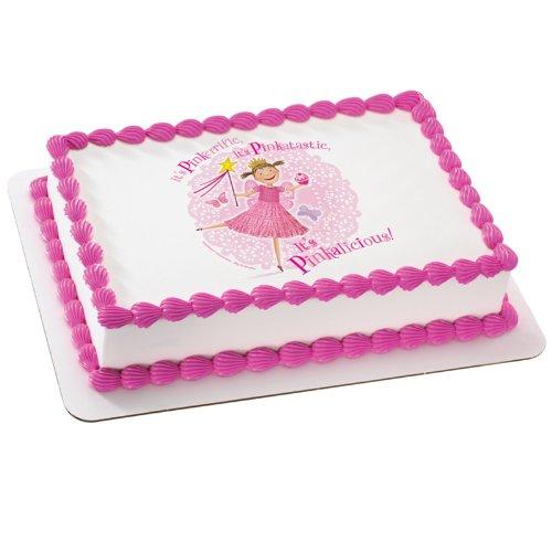 Pinkalicious - Pink Isn't Just Pink Edible Icing Cake Topper