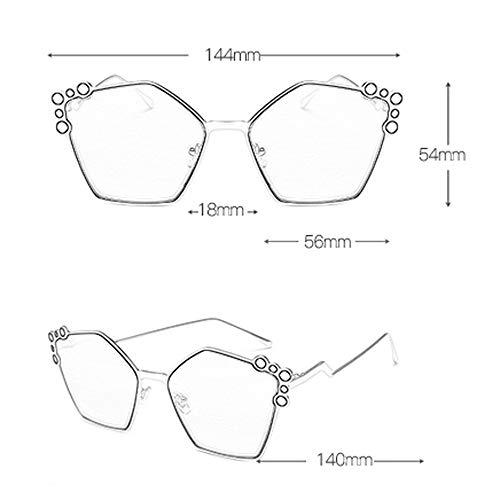 Lunettes New Star Soleil Couleur Round Femme Sport élégante personnalité C de soleil Rétro E de Des Star lunettes modèles wqR4P84