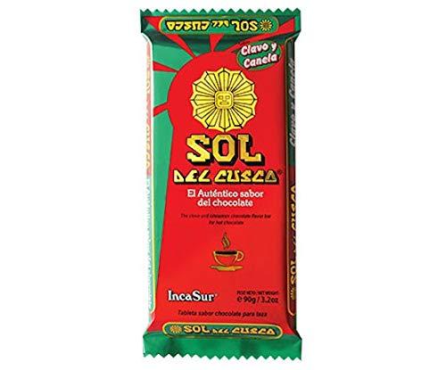 Chocolate Sol del Cuzco con sabor Clavo y Canela - 90g: Amazon.es: Alimentación y bebidas
