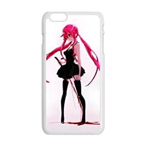 "Personality customization Slim Stylish Protective Print Hot ANIME Cartoon Mirai Nikki Cool Girl Picture Cover Case for iPhone 6 Plus Case 5.5""-2 At J-15 Cases"