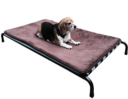 dogbed4less Textilene Fabric Heavy Duty Steel Elevated Pet B
