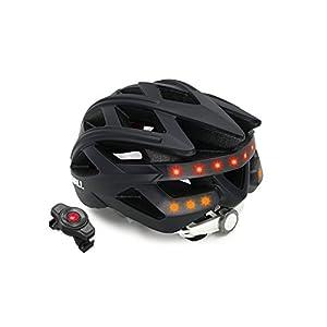 41N7b0IPEgL. SS300 Livall BH60se nero, Casco da bicicletta Unisex-Adult, 55-61 cm