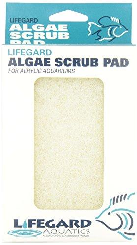 Lifegard Aquatics 4-Inch by 6-Inch White Algae Pad ()