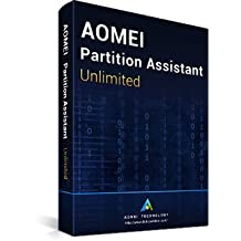 Click to open expanded view AOMEI Partition Assistant Unlimited + Free Lifetime Upgrades - Latest Version - Digital Delivery