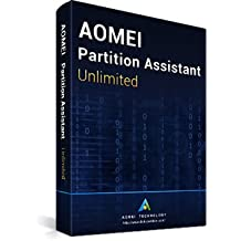 AOMEI Partition Assistant Unlimited + Free Lifetime Upgrades - Latest Version - Digital Delivery