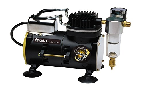 Iwata Sprint Jet Compressor - Iwata-Medea Studio Series Sprint Jet Single Piston Air Compressor
