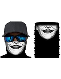 Happy Rocker Bandana Tube Face Mask Shield Jack Joker Headband