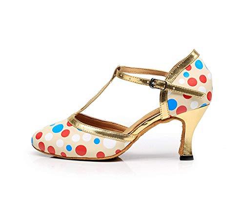 tango uk7 Latine Talon À chaussures Eu41 Femmes samba Danse Our42 Hauts De 5cm Yingsssq Chaussures Jazz Sandales chacha Talons D7 Pour Salsa modernes tRqxzT
