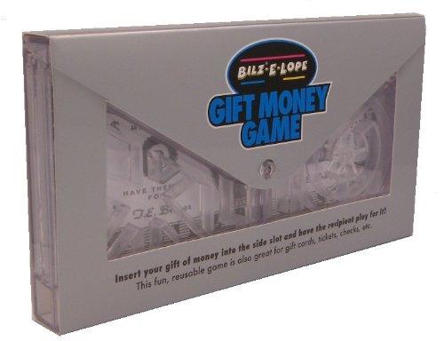 Bilz E-Lope Puzzle - Money Gift Maze Brainteaser by TE Brangs, Clear,