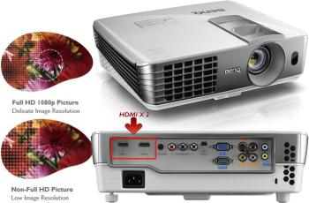 Amazon Com Benq W1070 1080p 3d Dlp Home Theater Projector