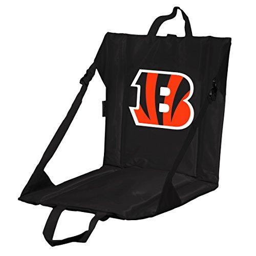 Logo Brands NFL Cincinnati Bengals Stadium Seat, One Size, Black
