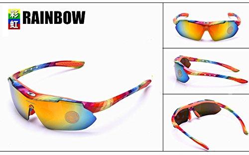 de Montura para Color Light nocturnaGafas Coche de solLos antideslumbramiento Baianf Rainbow Gafas Hombres Visión Nocturna Hombres metálica Blue Conducción 4nqxBWFHXw