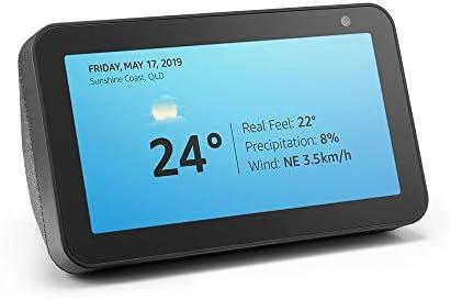 Echo Show 5 – Compact smart display with Alexa - Charcoal Fabric: Amazon .com.au