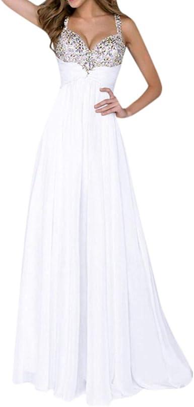 Hcfkj Robe Ete Femme Femmes Formelle Prom Long Sequin Robe Soiree Longue Robe Maxi Amazon Fr Vetements Et Accessoires