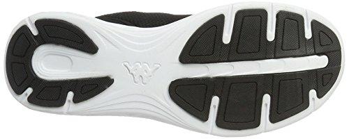 Kappa Paras, Zapatillas Unisex Adulto Negro (1110 Black/white)