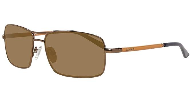 Gant Hombre Sonnenbrille GA7004 59E13 Gafas de sol, Marrón ...