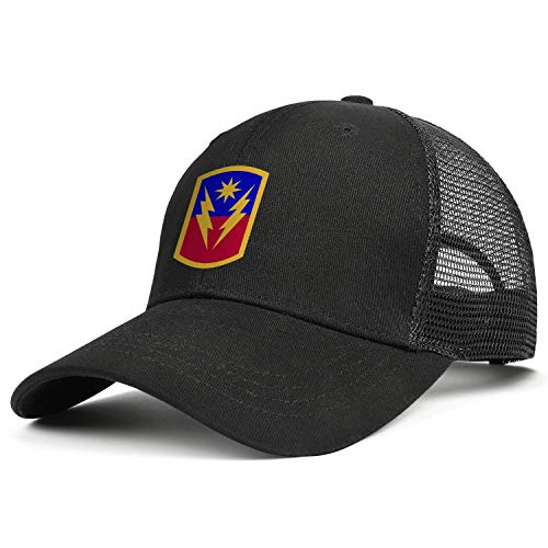 Patterned Snapback Hats for Men Cotton Dad Hat Unisex 40th Infantry Brigade Combat Team Adjustable Womens Baseball Cap Ball Caps