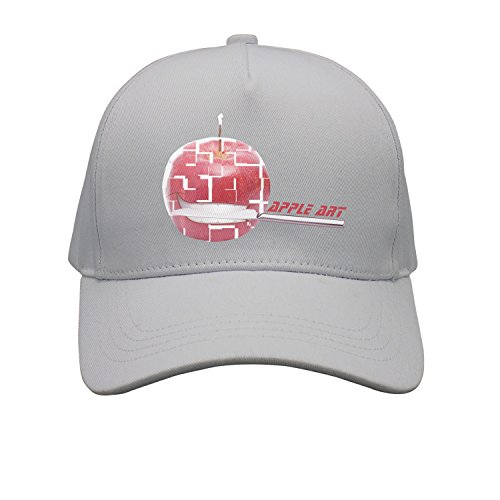 Cap Cool Apple Art Bite Knife Grin Cruel Unisex Cap Cute Stylish Casual Simple Funny Personality Fashion Travel Essential
