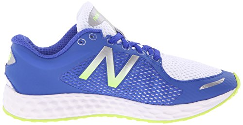 New Balance kjzntv2 Youth Zapatilla de Running (Little Kid/Big Kid) Azul/Blanco