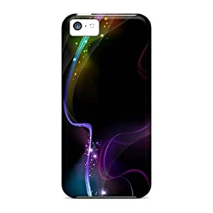 For Amoyi Iphone Protective Case, High Quality For Iphone 5c Aurora Skin Case Cover