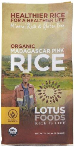 Pink Rice (Lotus Foods Organic Madagascar Pink Rice-15)