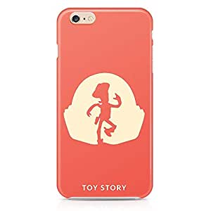 Loud Universe Woody Toy Story iphone 6 plus Case Minimal Toy Story Children iphone 6 plus Cover with 3d Wrap around Edges