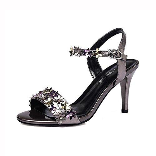 Tacón Sandalias De SraTemporada Zapatos Lovely Yxiny Verano JTlFK1c