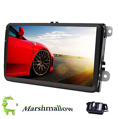 Unidad de radio de coche para VW Passat B6 CC Polo GOLF 5 6 Touran Jetta Tiguan Magotan de 9 pulgadas Android 6.0 Radio estéreo para coche GPS NaviQuad Core ...