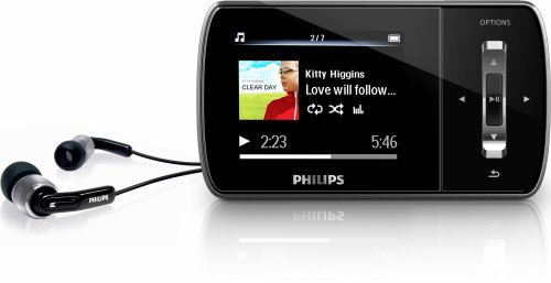 philips gogear ariaz 4gb mp3 and video player with 2 inch lcd works rh amazon co uk Philips GoGear Aria 16GB Manual Philips Aria